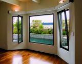 Die australische schwarze Aluminium Standardfarbe Kippen-Drehen Fenster
