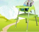 En71 chaise en plastique certifié chaise haute pour bébé chaise à manger / chaise haute