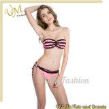 Reizvolle Brust-Bikini-Badebekleidungs-Großhandelsform-trägerlose Frauen-Badeanzüge