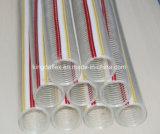 Manguito reforzado de la succión del PVC del alambre de acero