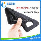 Cas hybride de couverture de téléphone mobile de Kickstand