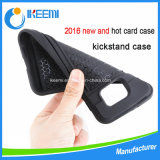 Kickstandのハイブリッド携帯電話カバーケース