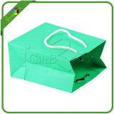 로고를 가진 보석 선물 종이 봉지를 주문 설계하십시오