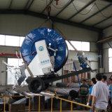 Impianto di irrigazione mobile della bobina del tubo flessibile dello spruzzatore dell'azienda agricola per piccolo sbarco