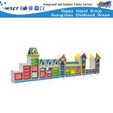 Kindergarten-große Speicher-Schrank-hölzerne Kind-Regal-Möbel Hc-3305
