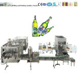 La bière de l'embouteillage de la machinerie, de la bière, de la bière de l'embouteillage de la machine de remplissage