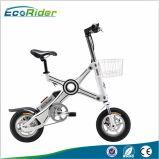 Batterie au lithium Bicyclette électrique à brosse sans moteur 350W Watt Deux roues Mini poche à pliage vélo électrique