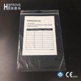 Ht-0616 PE van het Merk Hiprove de Zak van de Schuif met Druk