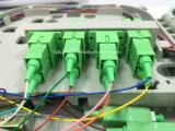Caixa 8ports de FTTH com o divisor do PLC de Sc/APC