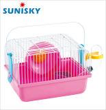 Cage de hamster standard avec le panneau de diviseur