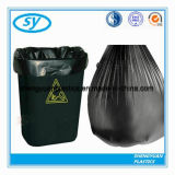 Sac d'ordures de taille énorme de HDPE/LDPE pour le coffre d'ordures lourd