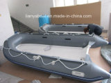 Liya 9.9ft To13.1ft Double Rowing OpenのデッキRigid Inflatable Boat