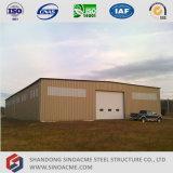 창고를 위한 가벼운 강철 프레임 구조