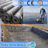 40/60/80 charca Liner/HDPE Geomembrane impermeable de la granja de pescados del HDPE de las milipulgadas