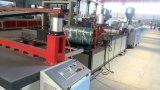 Linha de produção plástica Shining global maquinaria da telha de telhado do PVC
