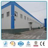 Entrepôt industriel léger préfabriqué personnalisé de structure métallique de Chambre de bâti en acier