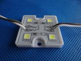 4 микросхемы 5050 квадратных SMD светодиодный модуль для подписать письмо