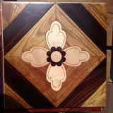 Revestimento projetado da arte do revestimento do mosaico da decoração parquet de madeira material