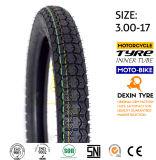 La motocicleta resistente del neumático de África parte el neumático 3.00-18 de la motocicleta del neumático de la motocicleta de la moto