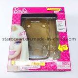 Коробка PVC пластмассы упаковывая для продуктов игрушки