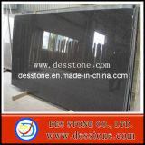 Losa de granito negro Impala mosaico losa negra