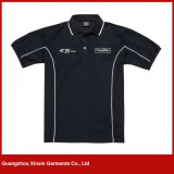 Custom Good Quality 100% Polyester Sports Golf T-Shirts (P103)