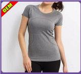 Fashion Sexy T-shirt impresso para as mulheres (W185)