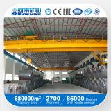 10ton CE, GOST haz doble puente grúa para bobinas de acero