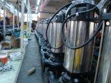 Wq le flasque en acier inoxydable de la pompe d'eaux usées submersible en fonte (WQ100-10-7.5ST)