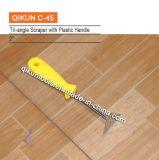 C-45 строительство декор краски оборудование ручной инструмент треугольник скребок с АБС пластмассовую ручку