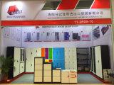 Mobília metálica do escritório usa o arquivo vertical 4 gavetas arquivando o gabinete de armazenamento