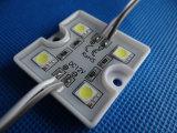4 chips 5050 módulo cuadrado SMD LED para Letter sesión
