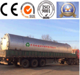 Strumentazione di distillazione per gomma residua