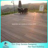 Sitio de bambú pesado tejido hilo al aire libre de bambú 54 del chalet del suelo del Decking