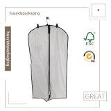 Sacchetto non tessuto del panno dell'indumento del coperchio del vestito dei pp