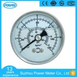 50のmmすべてステンレス鋼のグリセリンによって満たされる圧力計