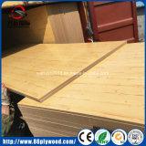 tarjeta decorativa comercial de la madera contrachapada del MDF de la melamina del grado de los muebles del pegamento de 4X8 E1 E2