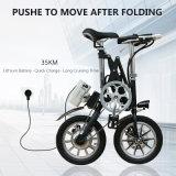 Bicyclette électrique de 14 pouces 36V 250W Folding City