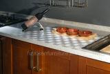 2018 Luxury цельной древесины кухонным шкафом шкафы для хранения двери вибрационного сита