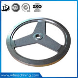 Soem-Metallgußteil-Schwungrad/Drehbeschleunigung-Rad mit der CNC maschinellen Bearbeitung