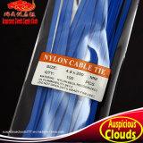 2.5X200 파란 자동 폐쇄 나일론 케이블 동점