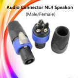 직업적인 오디오 Nl4 Speakon 전화선 암 커넥터