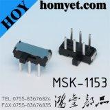 6pin (MSK-1153)를 가진 제조자 토글 스위치 또는 활주 스위치