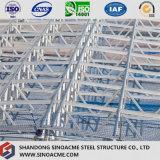 Construction légère mobile d'atelier de structure métallique