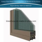Алюминиевое вися изготовление двери с хорошим качеством и проверкой TUV