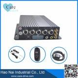 4CH EchtzeitWiFi bewegliche DVR 4 Kamera H 264 Ahd DVR mit Ableiter-Karte für Auto und Bus