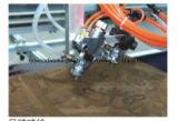 Machine automatique en forme de plaque de peinture au pistolet de commande numérique par ordinateur