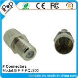 Connecteurs de connecteur coaxial de F F Kqj300 pour des connecteurs de rf