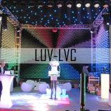 Le rideau de lumière LED souples/ Rideau Star LED Vision/LED Rideau de vidéo