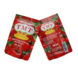 De Tomatenpuree Tmt, Vego, Fijne Tom Brand Tomato Processing van het sachet